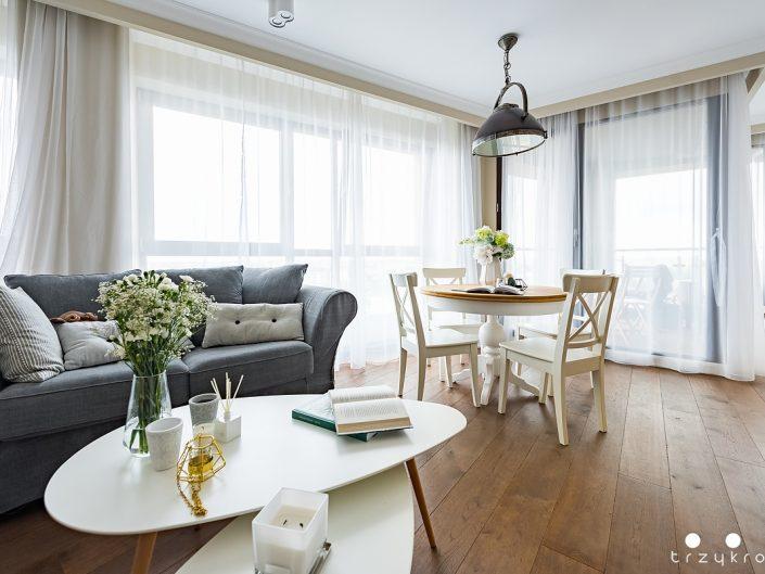 Wnętrze apartamentu w Lublinie