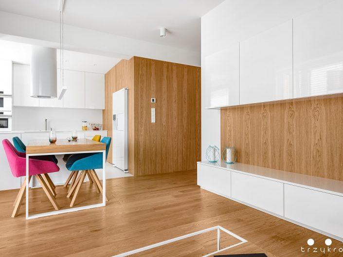 Wnętrze mieszkania w Lublinie